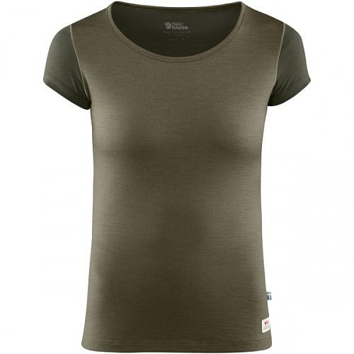 피엘라벤 우먼 캡 울 반팔 티셔츠 Keb Wool T-Shirt W (89747)